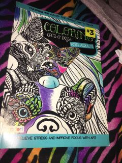 Coloring Book Cats & Dogs Adults