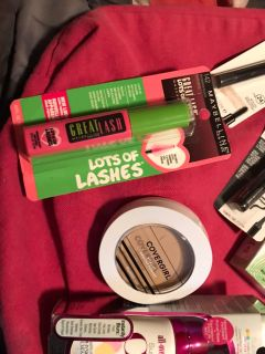 New unopened makeup $3. Ea. $18. For all obo