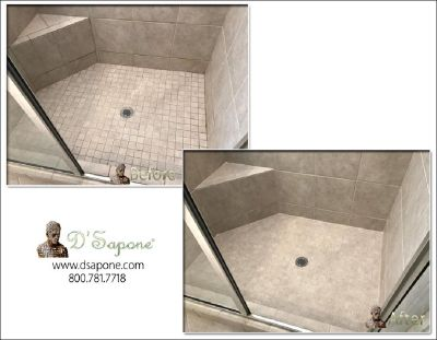 Travertine Shower Restoration Service (Cleaning,Sealing and Polishing)