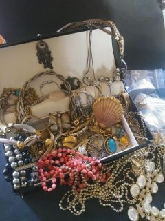 Vintage to Now jewelry lot all wearable some signed