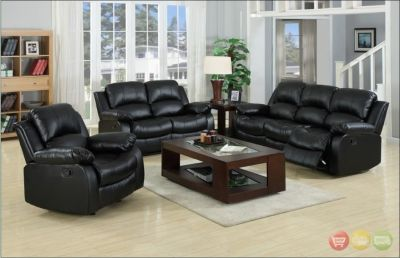 SALE! URBAN LEAHTER SOFA + LOVE 2pc RECLINER SET! NEW! WITH WARRANTY!