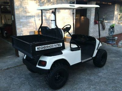 Lifted E-Z Go Electric Golf Cart
