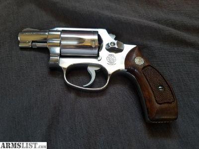 For Sale: Smith and Wesson Mod 60 no dash .38 spl DAO