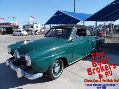 1950 Studebaker Convertible Champion Regal Deluxe