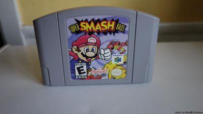 Original like new Super Smash bros 64 Nintendo 64 video game