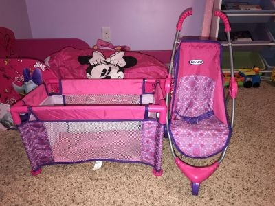 Graco Baby Doll Stroller and Pack N Play