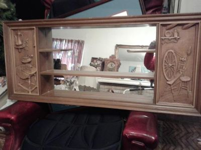 $150, Vintage Turner.Wall Accessory Shadow Box Mirrow