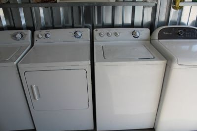 GE washer & dryer (free delivery(credit card accepted