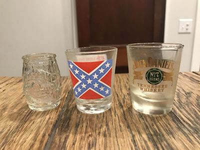 Shot Glasses and Toothpick Holder