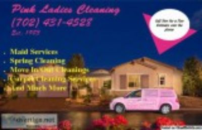 Las Vegas house cleaning Pink Ladies Maids