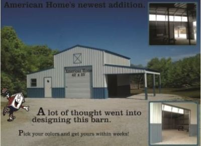 Barns, Shelters, Hay Covers, Bunny Barns Installed in Texas