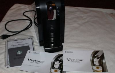 Starbucks Verismo Expresso Coffee Caffe Latte Maker Machine