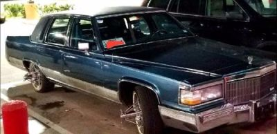 1991 CADILLAC brougham on swangas