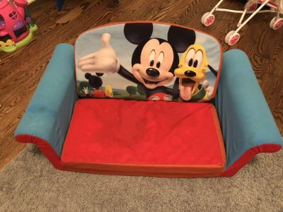 Mickey Mouse couch