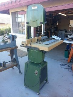 "Central Machinery 14"" Wood Bandsaw (Model 32208)"