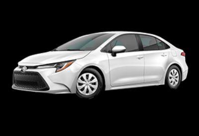 2020 Toyota Corolla L (Super White)