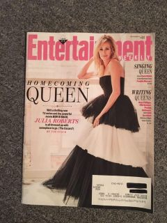 New Entertainment Weekly Magazine November 2018 ~ Homecoming Queen
