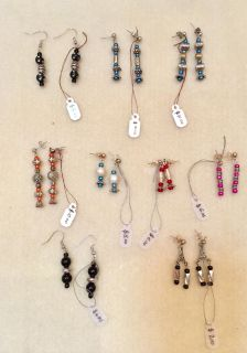 9 Pairs of Earrings for $10