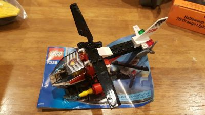 lego 7238 City Helicopter complete