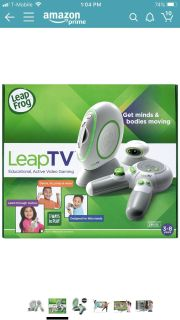 ISO LeapTV and games