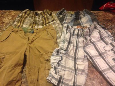 4 pair of size 7 shorts
