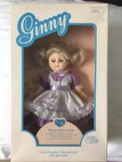 Vintage 1988 Ginny Collectable Vogue Doll