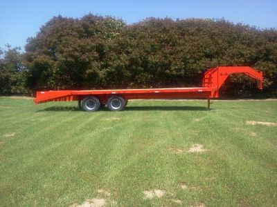 NEW 2014 20K G.V.W. GOOSENECK TRAILER
