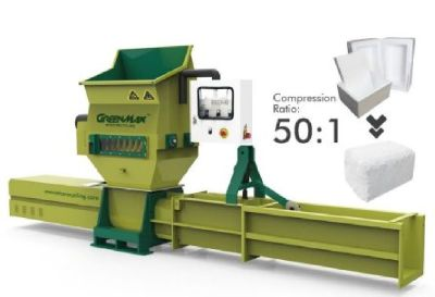 EPS recycling with GREENMAX APOLO C200 compactor