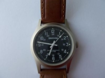 """Trail's End 1 1/4"""" Black Face watch"""
