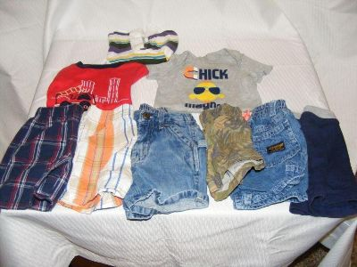 Mixed lot of size 12 months