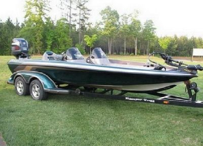 2008 Ranger 520vx comanche 40th anniversery Fresh water