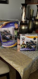 Brand new WWE Twin Comforter and sheet set