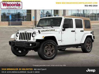 New 2018 Jeep Wrangler Unlimited JK 4x4