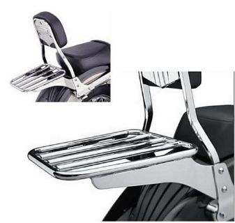Find Cobra Luggage Rack Chrome Honda Kawasaki Yamaha motorcycle in Fall River, Massachusetts, US, for US $115.95