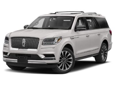 2018 Lincoln Navigator L L Black Label (White Platinum Metallic Tri-Coat)