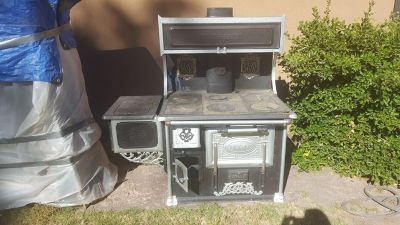 Antique Quick Meal Wood Stove