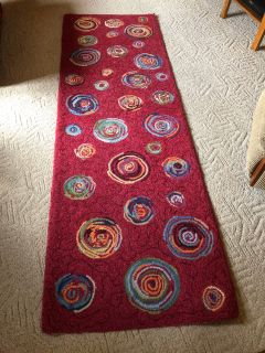 Company rug, 2 6 x 76, excellent condition