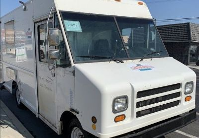1997 Ford E350-Econoline-Con cession-Food-Truck
