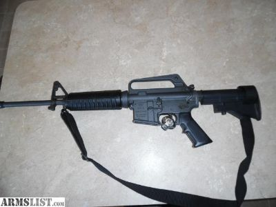 For Sale: Colt AR15, 9mm, Shorty Pre Ban