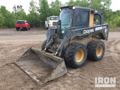 2012 John Deere 328D Skid-Steer Loader