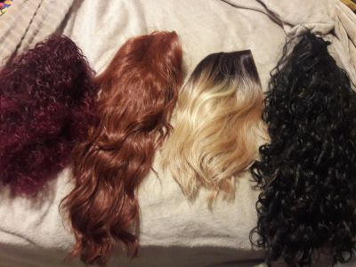 Wigs lace front