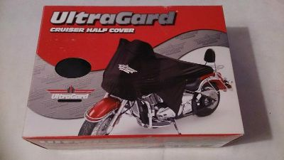 Find UltraGard Protective Bike Cover Cruiser Half Cover *NEW* Black #4-456BK motorcycle in Richlandtown, Pennsylvania, US, for US $28.99