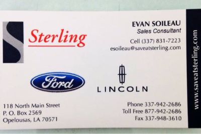 New and used vehicle sales (Opelousas )