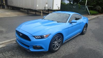 2017 Ford Mustang EcoBoost Premium Fastback (Grabber Blue)