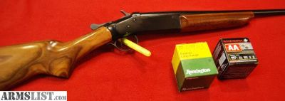 For Sale/Trade: Like New Iver Johnson .410 Single Shot with two boxes ammo
