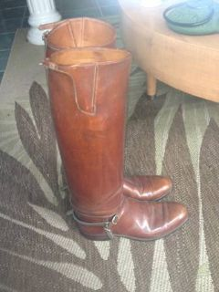 Vintage Custom Dehners tall riding boots