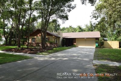 Waterfront Tuscawilla Rental Home