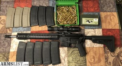 For Sale/Trade: AR15 and lots of extras