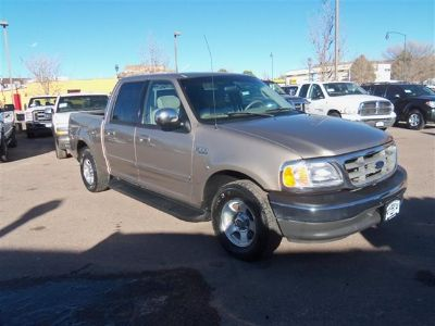 2002 Ford F-150 King Ranch (Gold)