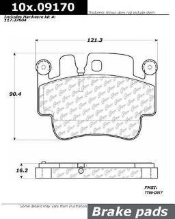 Sell CENTRIC 106.09170 Brake Pad or Shoe, Rear motorcycle in Saint Paul, Minnesota, US, for US $64.97
